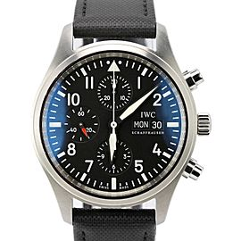 IWC Classic Pilot IW371701 Stainless Steel & Leather Automatic 42mm Mens Watch
