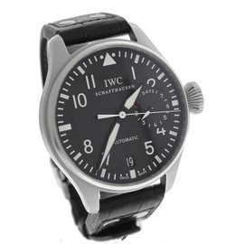 IWC Big Pilot IW500401 Stainless Steel & Leather Automatic 46mm Mens Watch