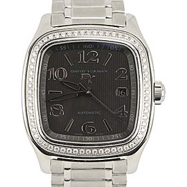 David Yurman Thoroughbred T310-X Stainless Steel with Black Dial 42mm Mens Watch