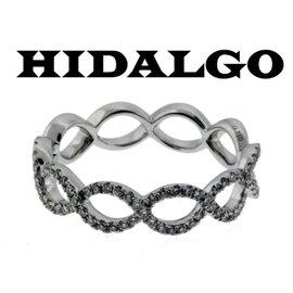 Hidalgo 18K White Gold with 0.27ct Diamond Wedding Band 6.5