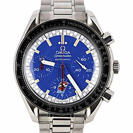 Omega Speedmaster 3510.80 Stainless Steel & Blue Dial Limited Edition 39mm Mens Watch