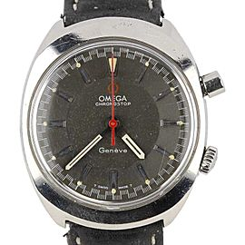 Omega Chronostop 3520.50 Stainless Steel Vintage 39mm Mens Watch