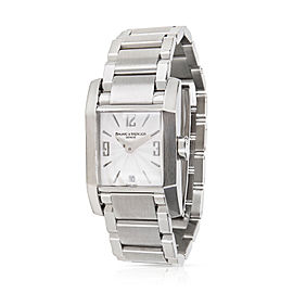 Baume & Mercier Hampton 65488 Stainless Steel 22mm Womens Watch