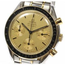 Omega Speedmaster 3310.20 18K Yellow Gold / Stainless Steel Automatic 39mm Mens Watch