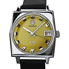 Rado 990 EX2 Stainless Steel Automatic Vintage 31mm Unisex Watch