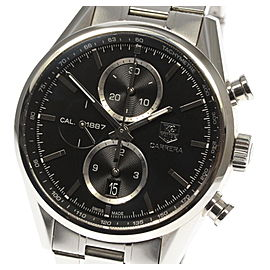 Tag Heuer Carrera CAR2110-3 Stainless Steel Automatic 41mm Mens Watch