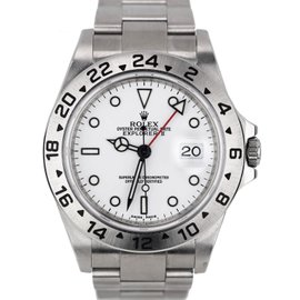 Rolex Explorer II 16570 T Stainless Steel Automatic 40mm Mens Watch