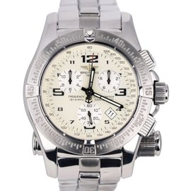 Breitling Emergency Mission A73322 Chronograph Stainless Steel 45mm Mens Watch