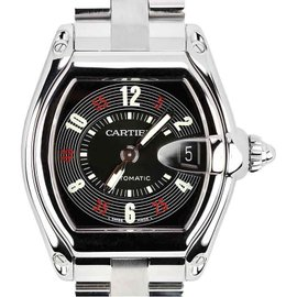 Cartier Roadster W62002V3/2510 Stainless Steel Automatic 36mm Unisex Watch