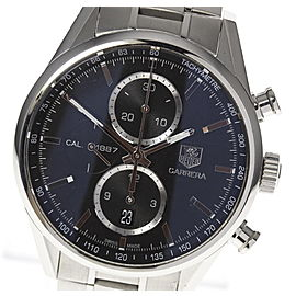 Tag Heuer Carrera CAR2110-5 Stainless Steel Automatic 41mm Mens Watch