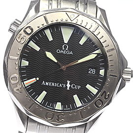 Omega Seamaster 2533.50 America's cup Stainless Steel Automatic 41mm Mens Watch