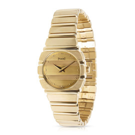 Piaget Polo 861 C701 18K Yellow Gold Quartz 23mm Womens Watch