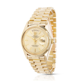 Rolex Day-Date 1803 18K Yellow Gold Automatic Vintage 36mm Mens Watch