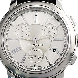 Tiffany & Co. Mark Chronograph 070220454 42mm Mens Watch