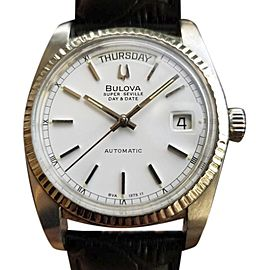 Bulova Super Seville Vintage 36mm Mens Watch