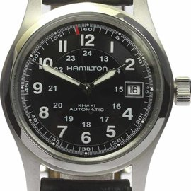 Hamilton Khaki H704450 Stainless Steel & Leather Automatic 38mm Mens Watch