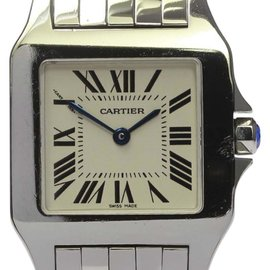 Cartier Santos Demoiselle W25065Z5 Stainless Steel Quartz 26mm Unisex Watch