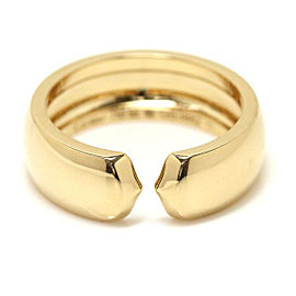 Cartier 18K Yellow Gold Ring Size 8