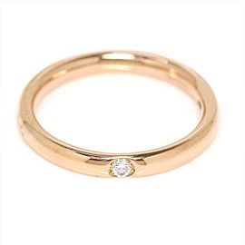 Pomellato Lucciole 18K Rose Gold with 0.03ct Diamond Ring Size 4.5