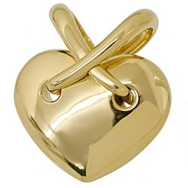 Chaumet 18K Yellow Gold Heart Pendant