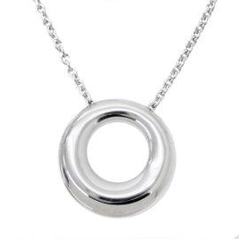 Chaumet 18K White Gold Annaud Pendant Necklace