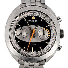 Baylor Landeron Datora 149 Vintage 39mm Mens Watch