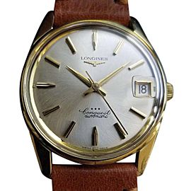Longines Conquest Vintage 34mm Mens Watch