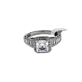 Tacori Platinum Diamond Engagement Ring Size 6.25