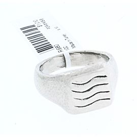 Gurhan Palladium, Sterling Silver Ring Size 10