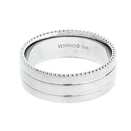 Verragio 14K White Gold Wedding Ring
