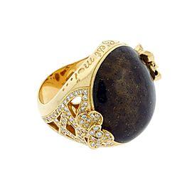 Pasquale Bruni 18K Rose Gold Diamond Ring Size 6.5