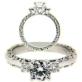 Tacori Platinum Diamond Engagement Ring