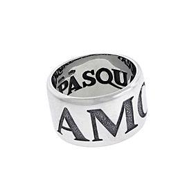 Pasquale Bruni 18K White Gold Ring