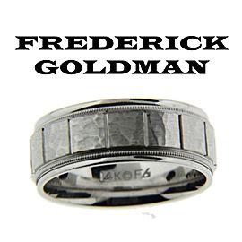 White Gold Wedding Ring Size 10
