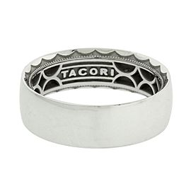 Tacori 111-7 Sculpted Crescent wedding band in 18k 7mm size 10.25.