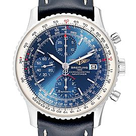 Breitling Navitimer Heritage Blue Dial Steel Mens Watch A13324