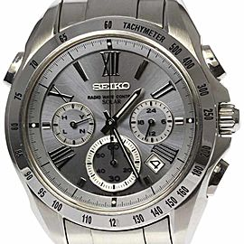 Seiko Brightz 8B82-0AG0 41mm Mens Watch