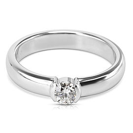 Tiffany & Co. PT950 Platinum with 0.24ct Diamond Engagement Ring Size 6