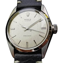 Rolex Oyster Precision 6426 Vintage 34mm Mens Watch