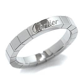 Cartier Lanieres PT950 Platinum Ring Size 6