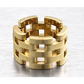 Cartier 18K 18K Yellow Gold Ring Size 4.75