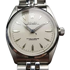 Rolex Oyster Perpetual 6564 Vintage 33mm Unisex Watch
