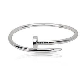 Cartier Juste Un Clou Bracelet 18K White Gold