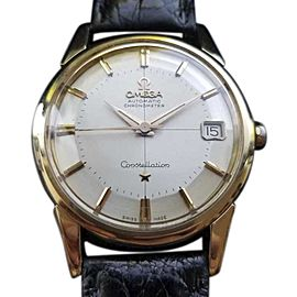 Omega Constellation 14393 Vintage 34mm Mens Watch 1960s