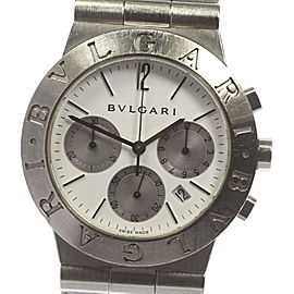 Bulgari Diagono CH35S 35mm Mens Watch