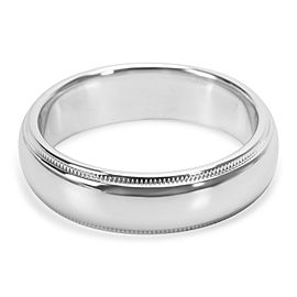 Tiffany & Co. Platinum Wedding Band Ring Size 9.75