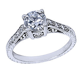 Tacori Platinum with 1/10ct Diamond Engagement Ring