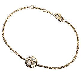 Louis Vuitton 18K Rose Gold with Diamond Blossom Bracelet