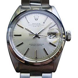 Rolex Oysterdate 1500 Vintage 35mm Mens Watch