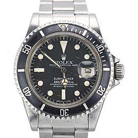 Rolex Submariner 1680 Vintage40mm Mens Watch